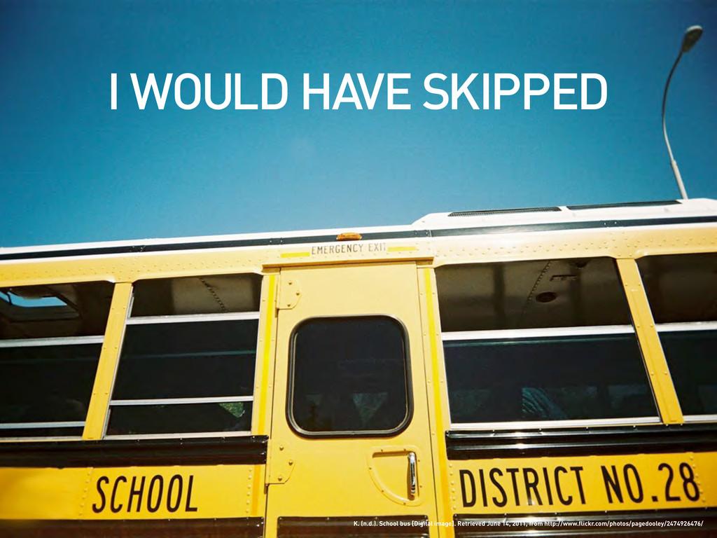 K. (n.d.). School bus [Digital image]. Retrieve...