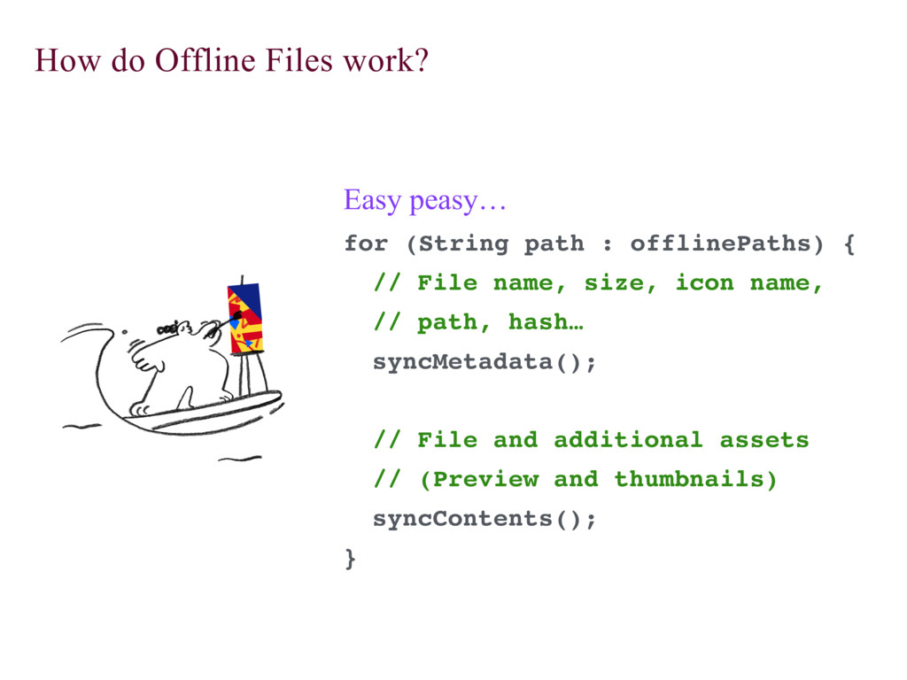 How do Offline Files work? Easy peasy… for (Str...