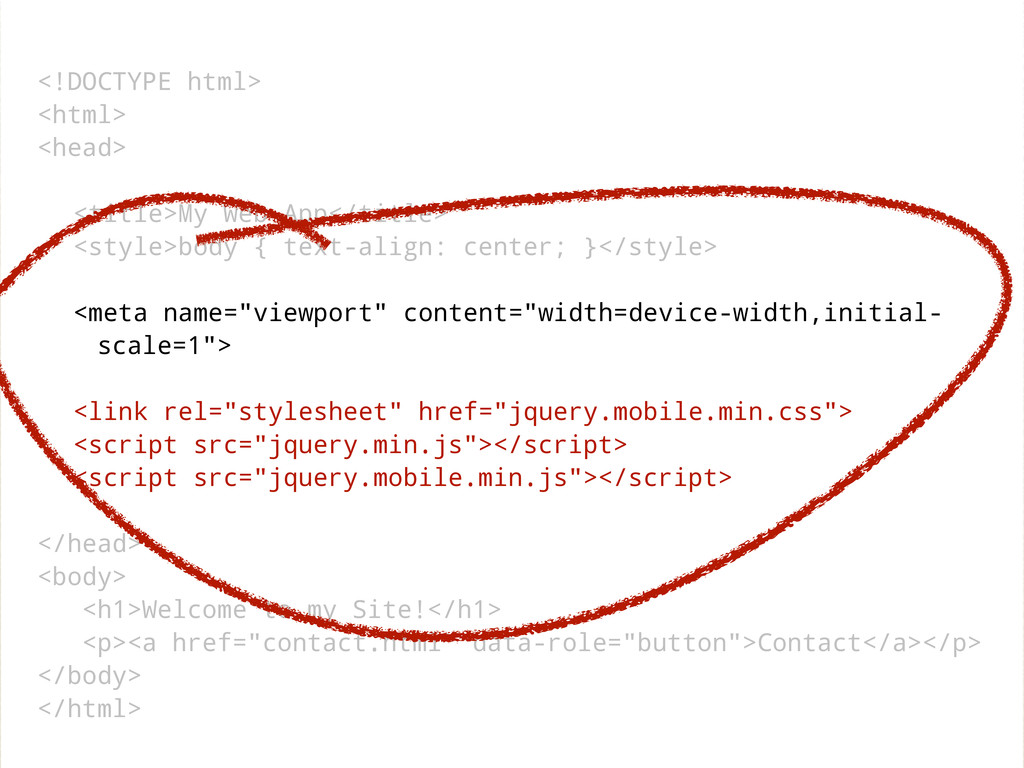 <!DOCTYPE html> <html> <head> <title>My Web App...