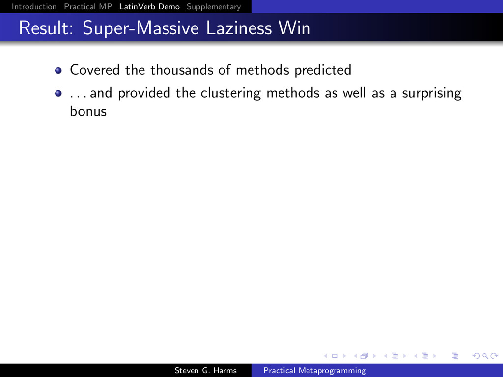 Introduction Practical MP LatinVerb Demo Supple...
