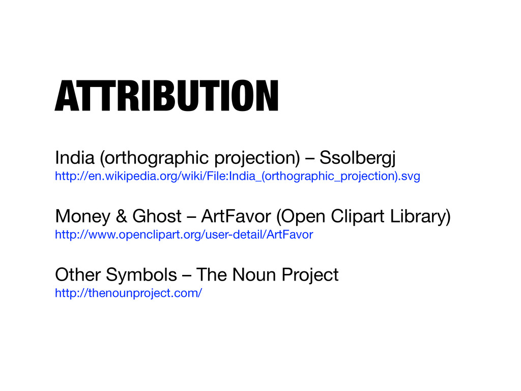ATTRIBUTION India (orthographic projection) – S...