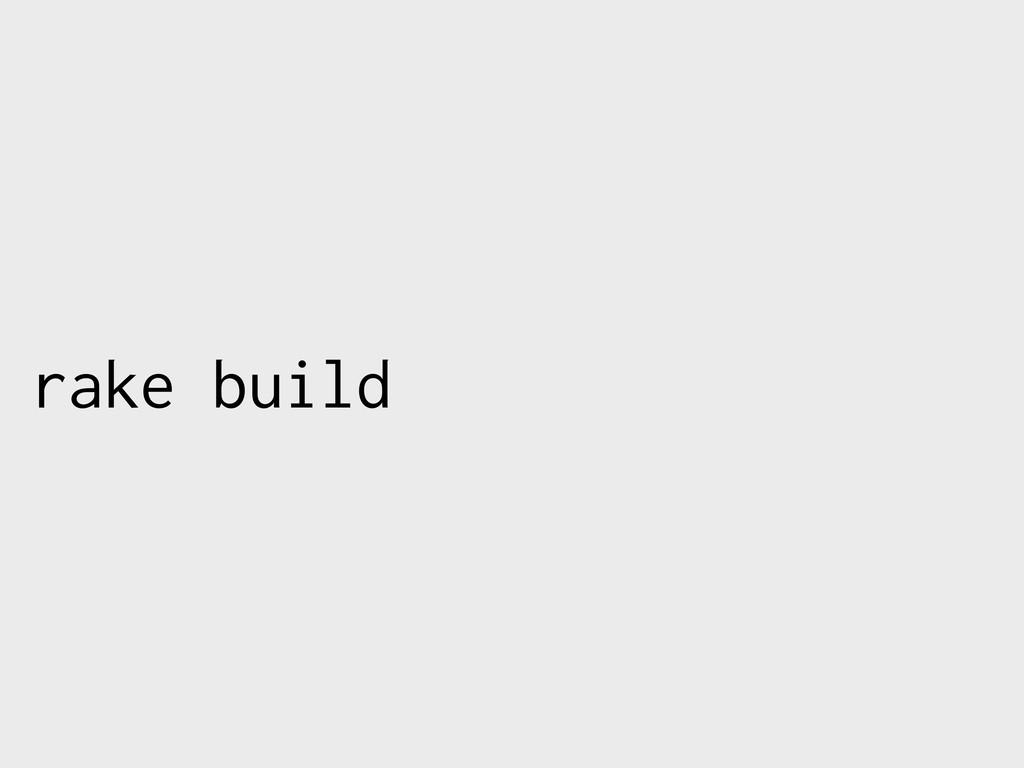 rake build