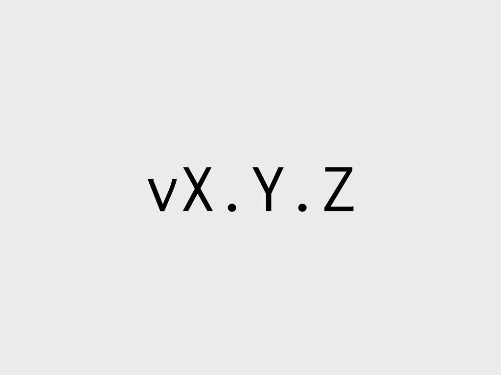 vX.Y.Z