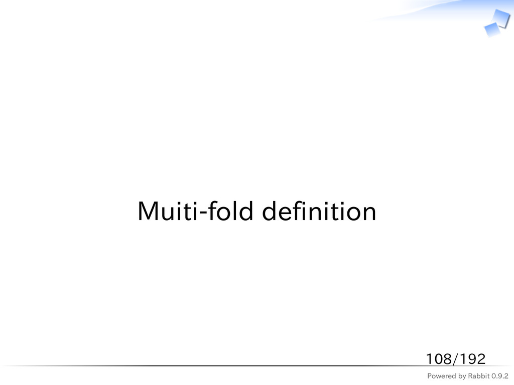 Powered by Rabbit 0.9.2   Muiti-fold definition...