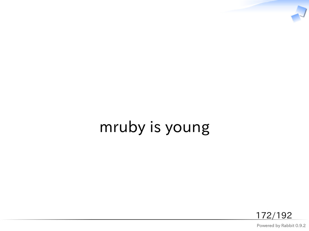 Powered by Rabbit 0.9.2   mruby is young 172/192