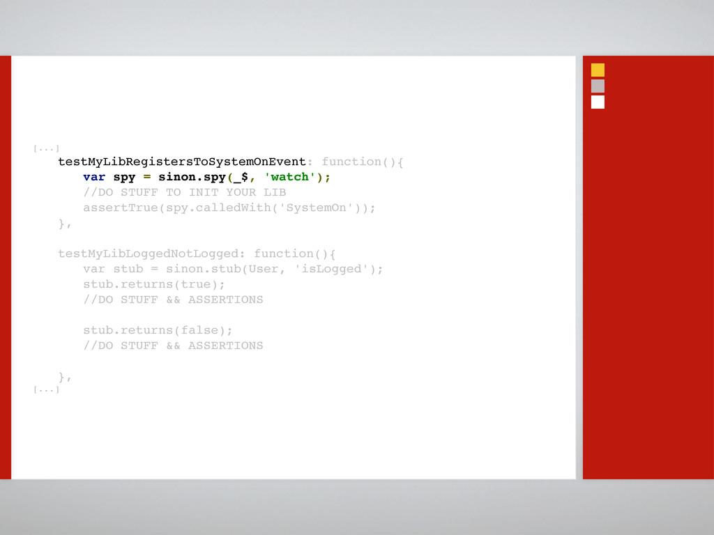 [...] testMyLibRegistersToSystemOnEvent: functi...