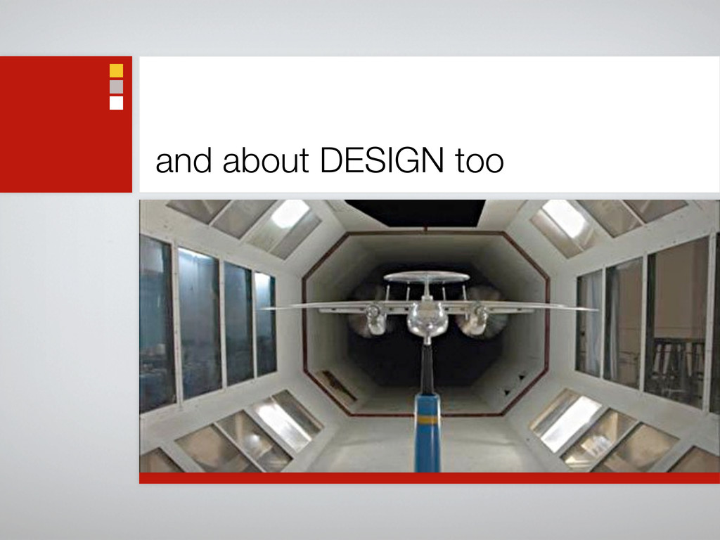 and about DESIGN too