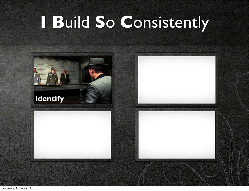 I Build So Consistently identify domenica 2 ott...