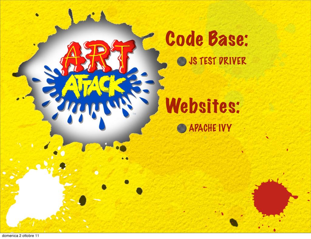 APACHE IVY Websites: Code Base: JS TEST DRIVER ...