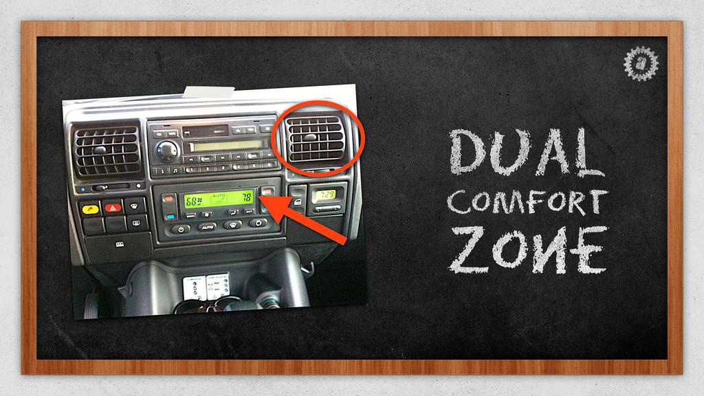 Dual Comfort Zone