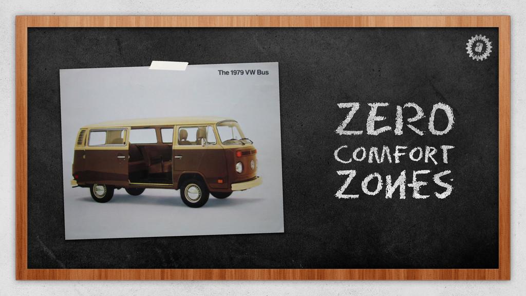 ZERO Comfort Zones