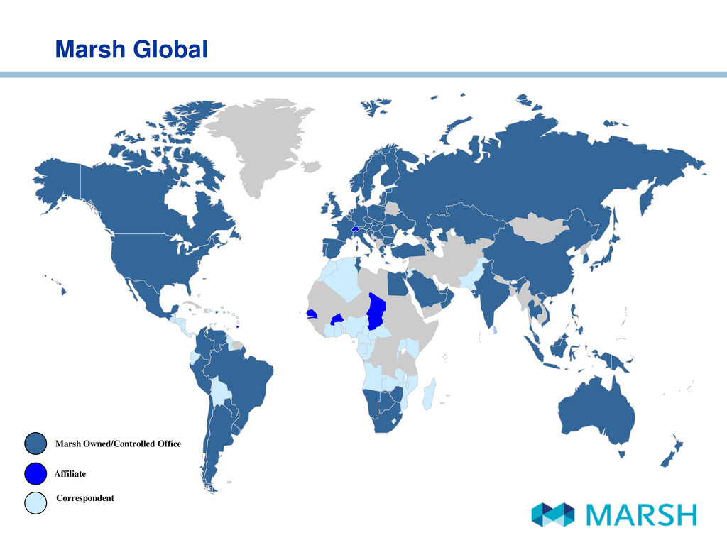 Marsh Global Marsh Owned/Controlled Office Corr...