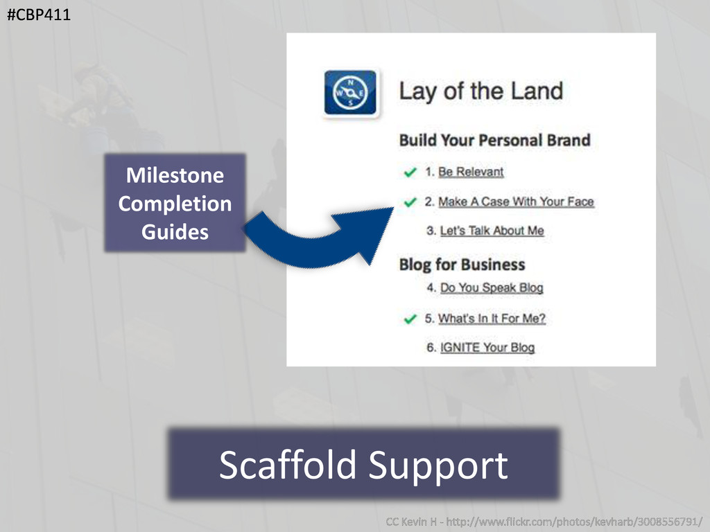Scaffold Support Milestone Completion Guides #C...