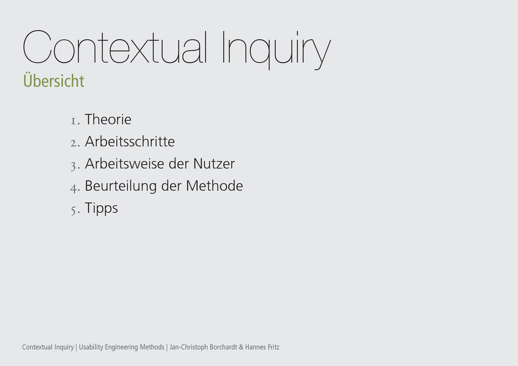 Contextual Inquiry | Usability Engineering Meth...