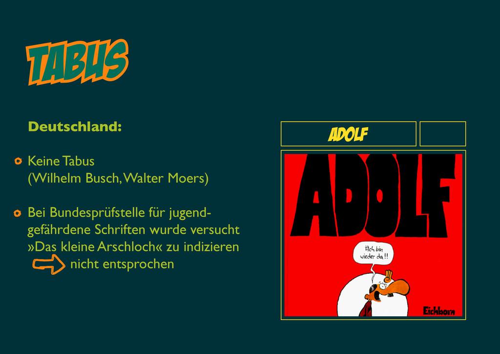Tabus Adolf Deutschland: Keine Tabus (Wilhelm B...