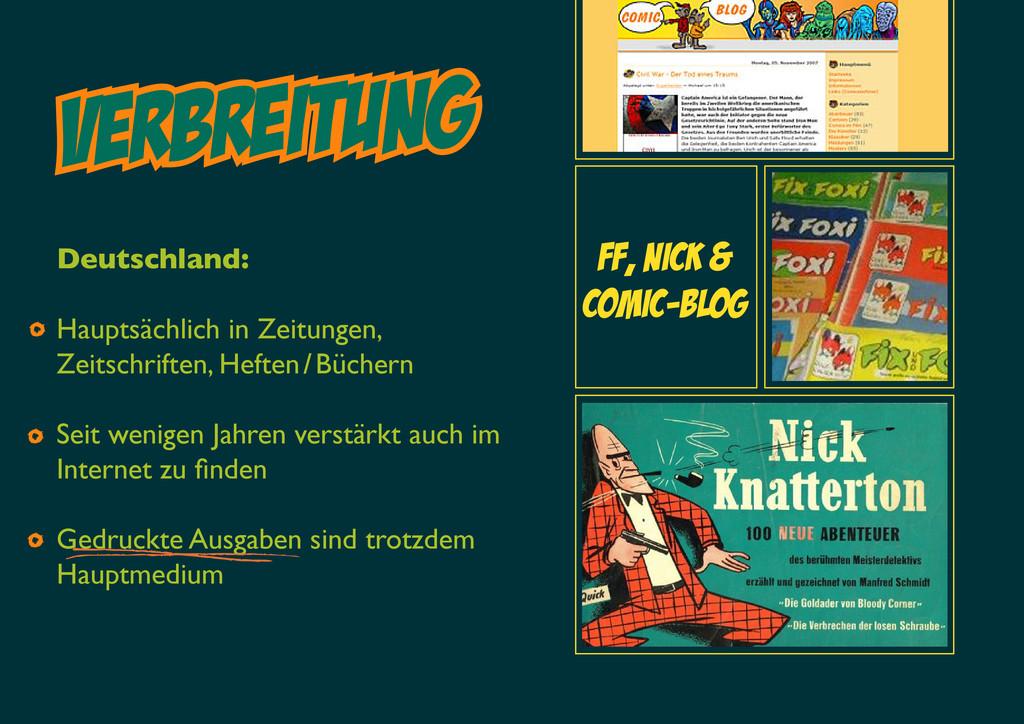 VERBreitung FF, Nick & Comic-blog Deutschland: ...