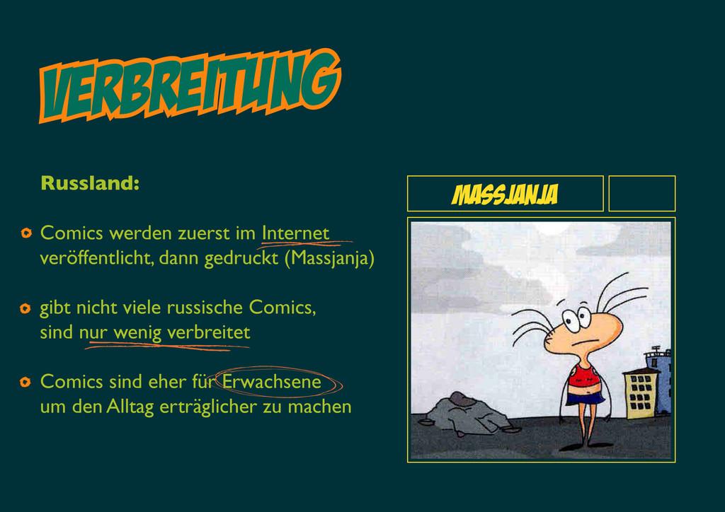 VERBreitung Massjanja Russland: Comics werden z...