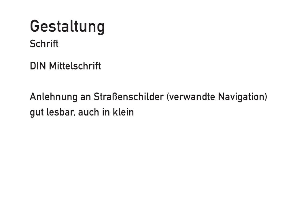 Gestaltung Schrift DIN Mittelschrift Anlehnung ...