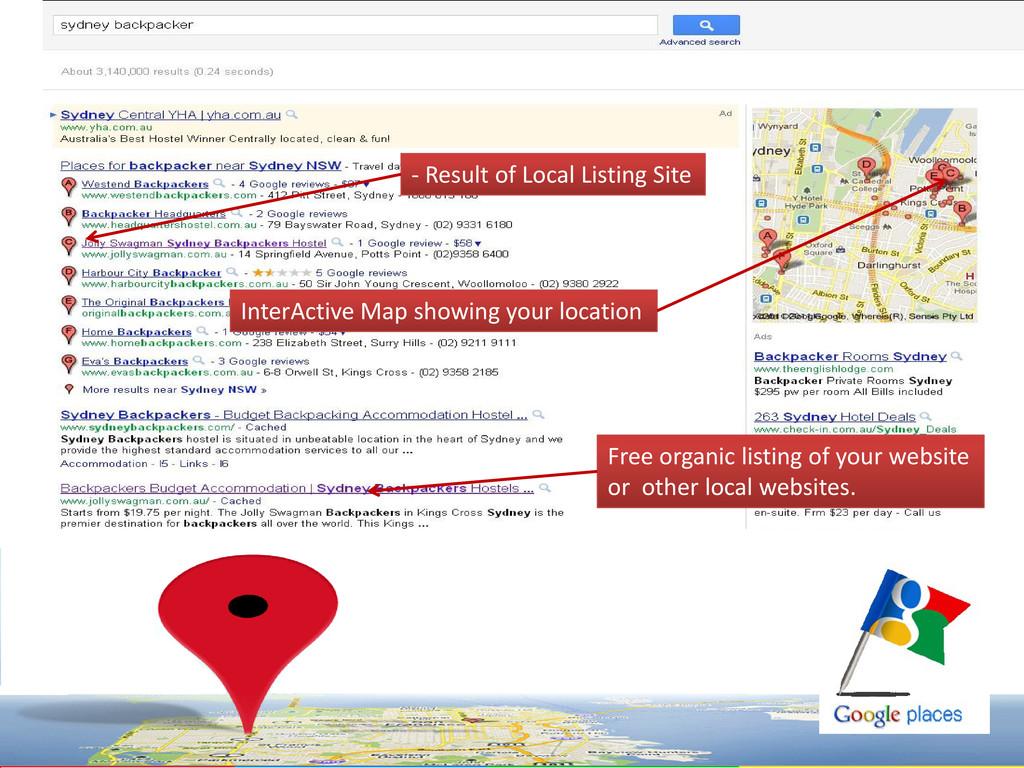 - Result of Local Listing Site - Result of Loca...