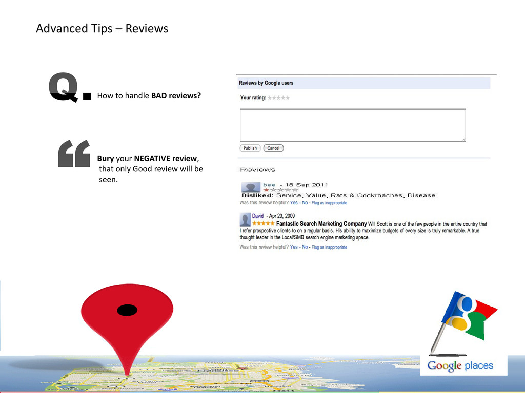 How to handle BAD reviews? Bury your NEGATIVE r...