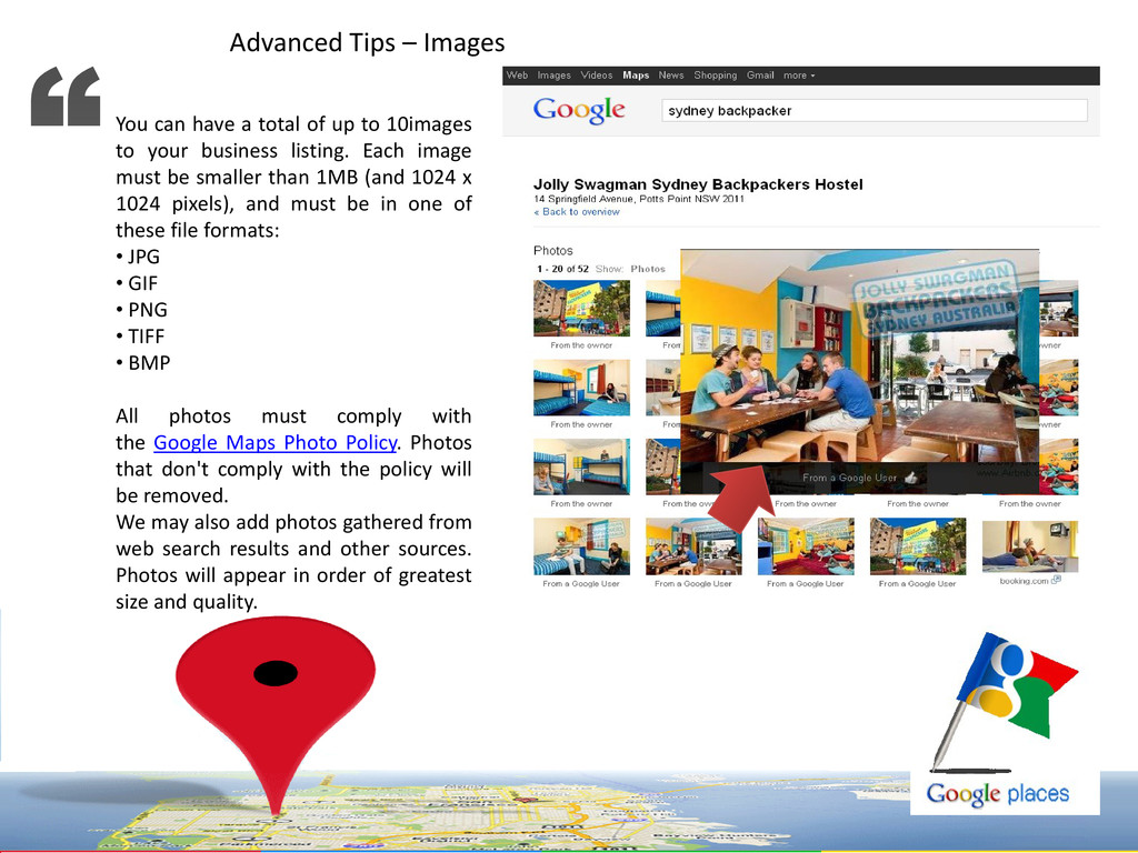 Advanced Tips – Images You can have a total of ...
