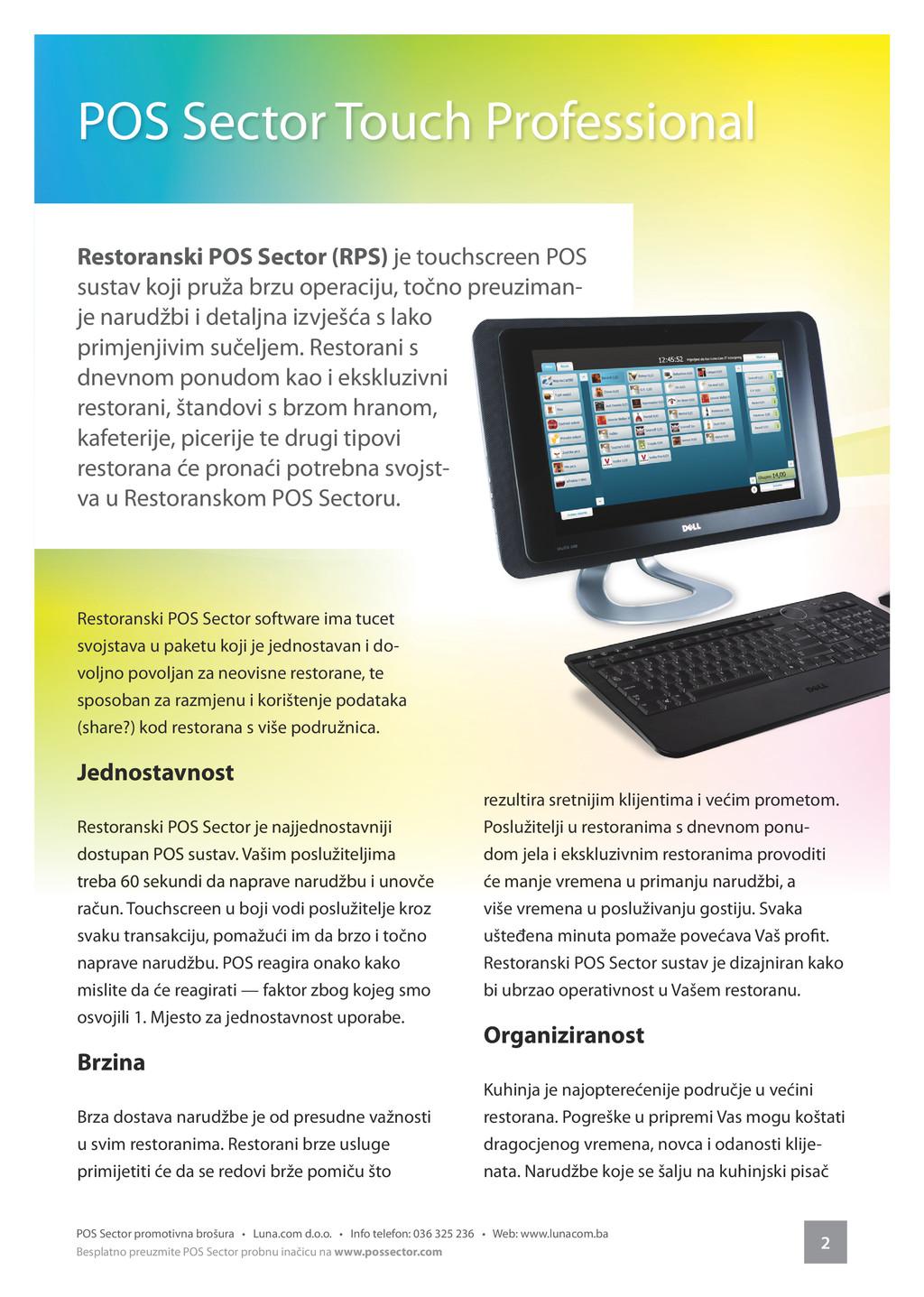 2 POS Sector promotivna brošura • Luna.com d.o....