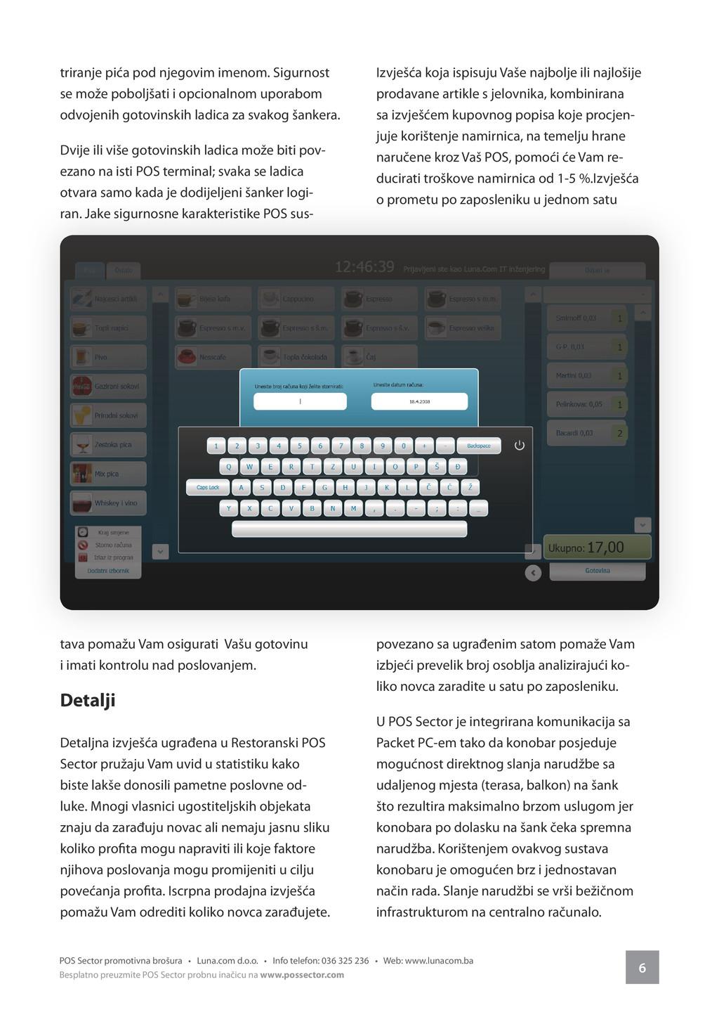 6 POS Sector promotivna brošura • Luna.com d.o....