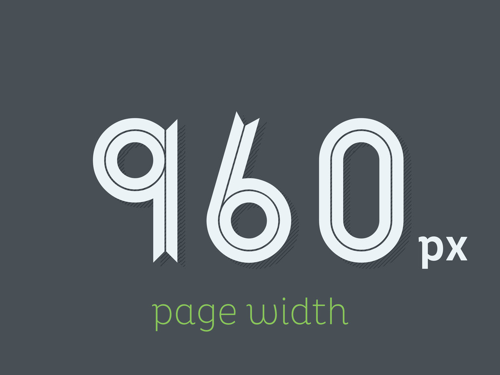 page width px 960
