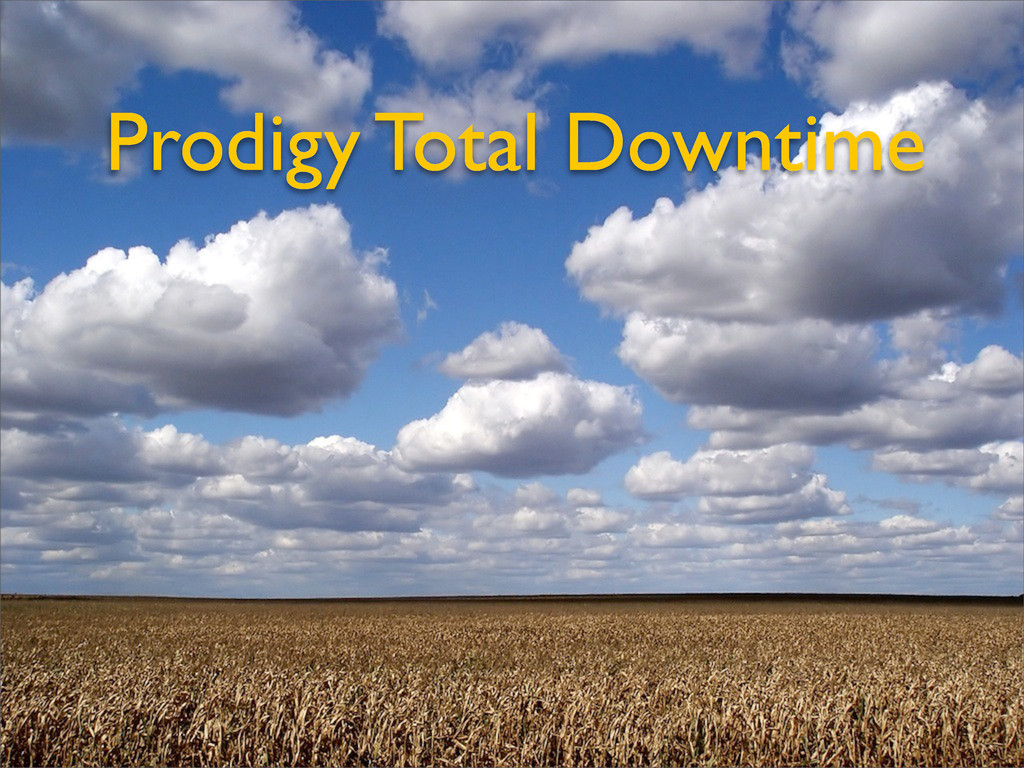 Prodigy Total Downtime