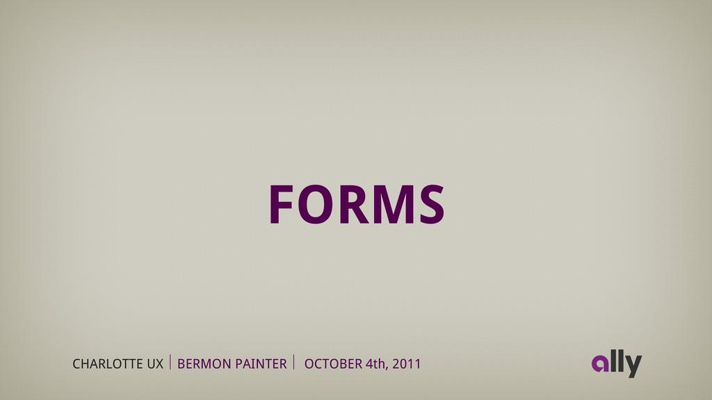 CHARLOTTE UX BERMON PAINTER OCTOBER 4th, 2011 F...