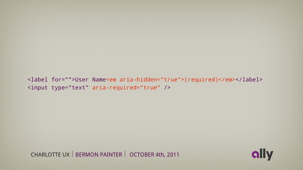 CHARLOTTE UX BERMON PAINTER OCTOBER 4th, 2011 <...