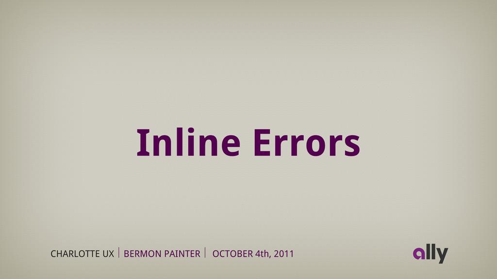 CHARLOTTE UX BERMON PAINTER OCTOBER 4th, 2011 I...
