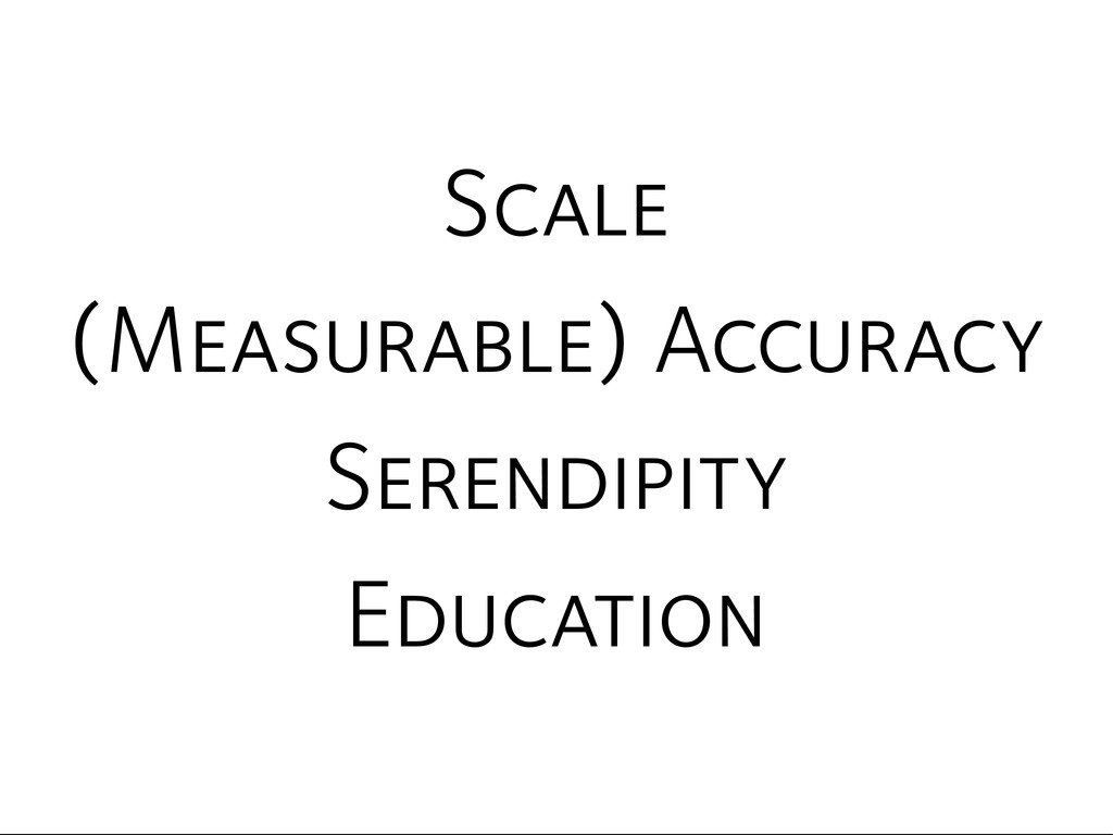 Serendipity (Measurable) Accuracy Scale Educati...