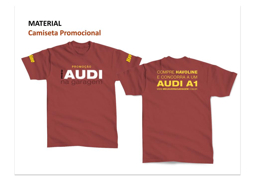 MATERIAL Camiseta Promocional