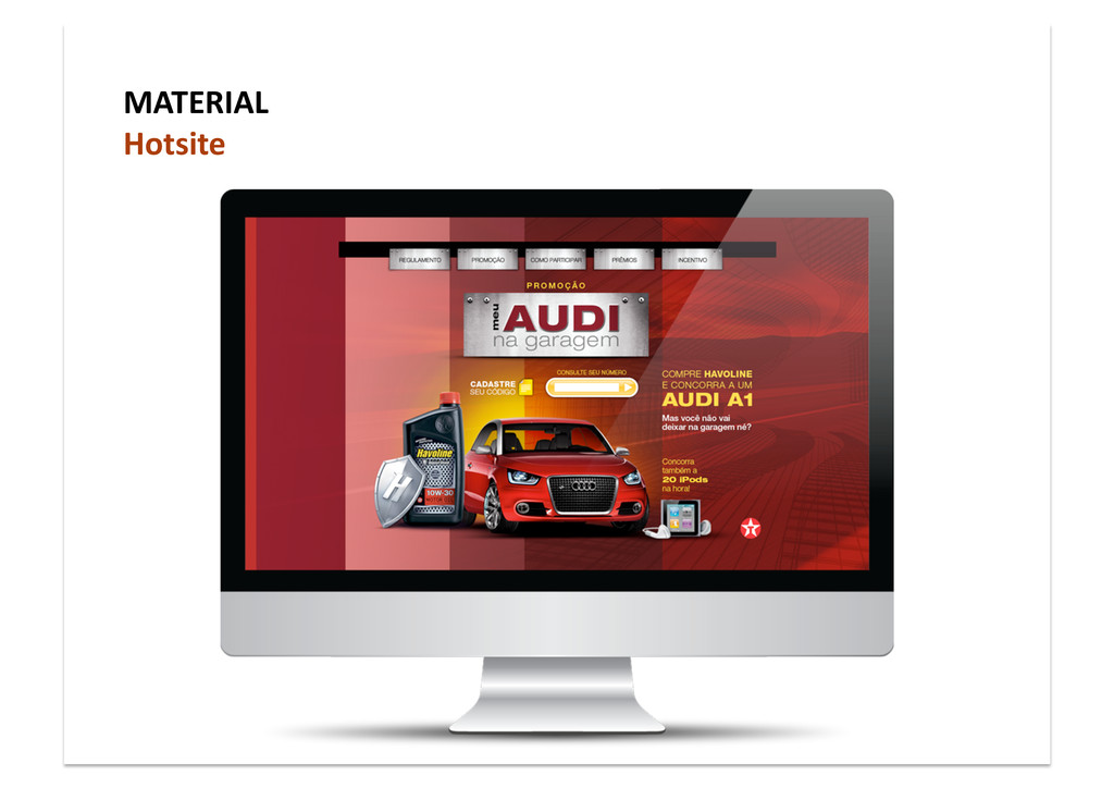 MATERIAL Hotsite