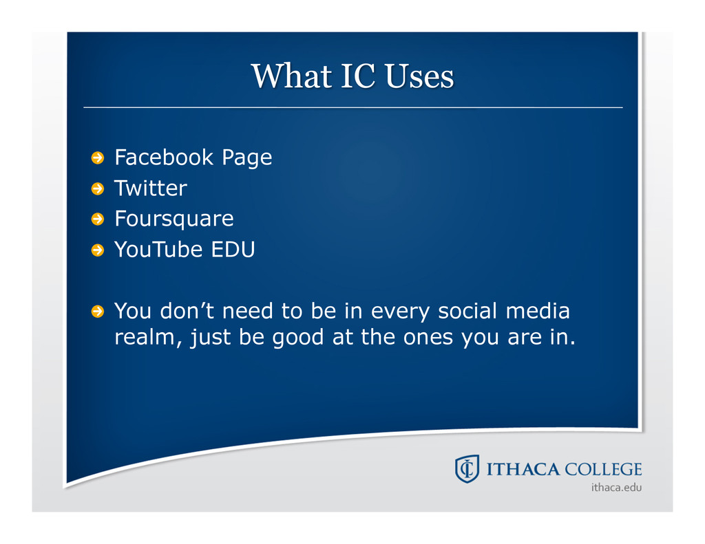 !  Facebook Page !  Twitter !  Foursquare ! ...