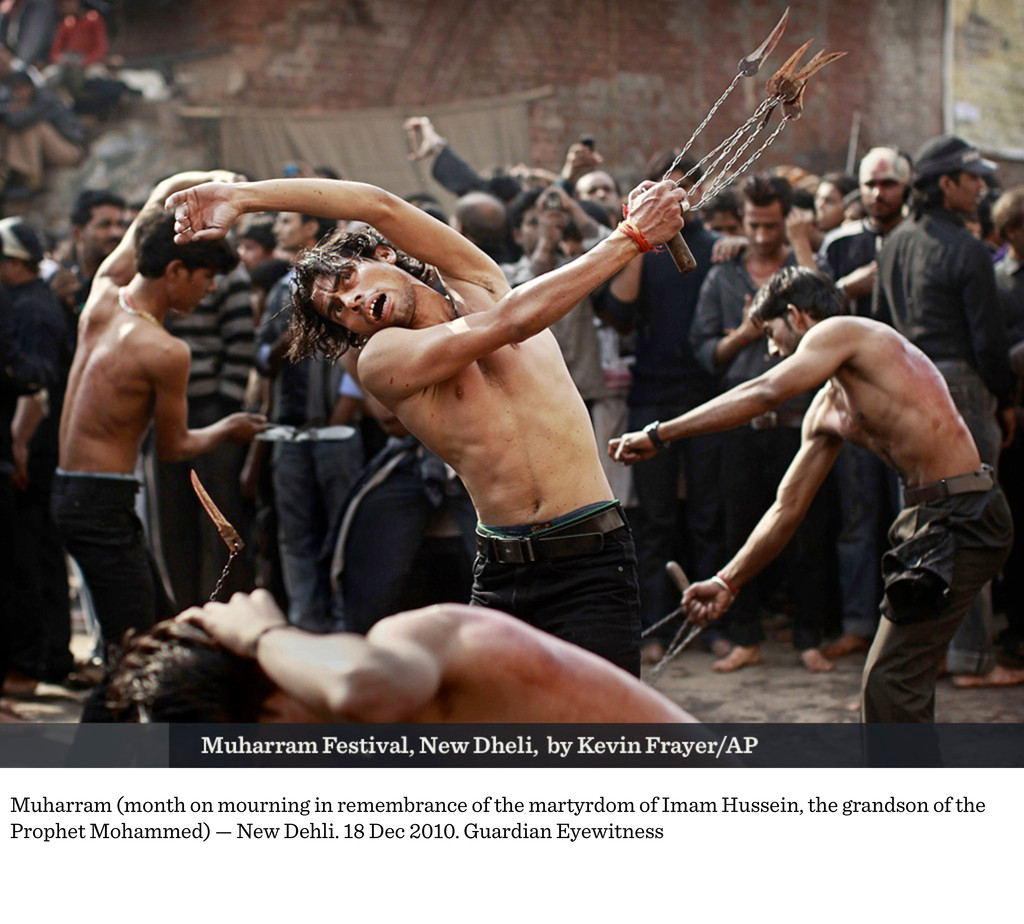 Muharram (month on mourning in remembrance of t...