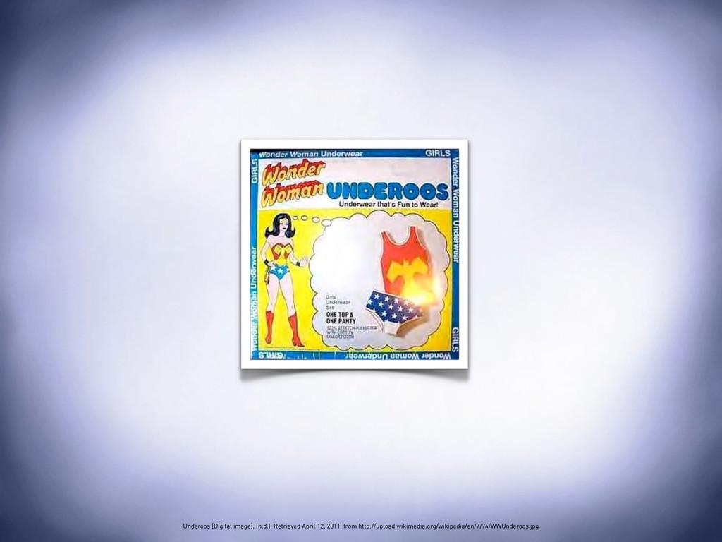 Underoos [Digital image]. (n.d.). Retrieved Apr...