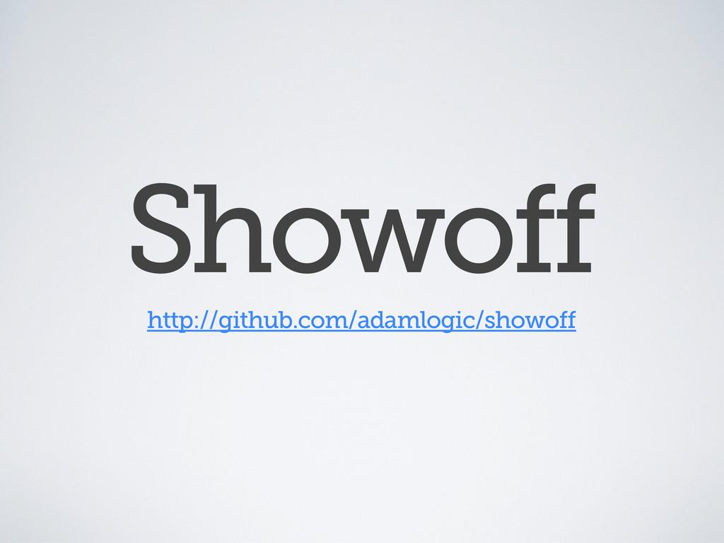 Showoff http://github.com/adamlogic/showoff