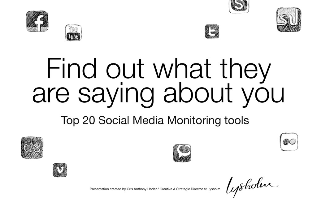 Top 20 Social Media Monitoring tools Find out w...