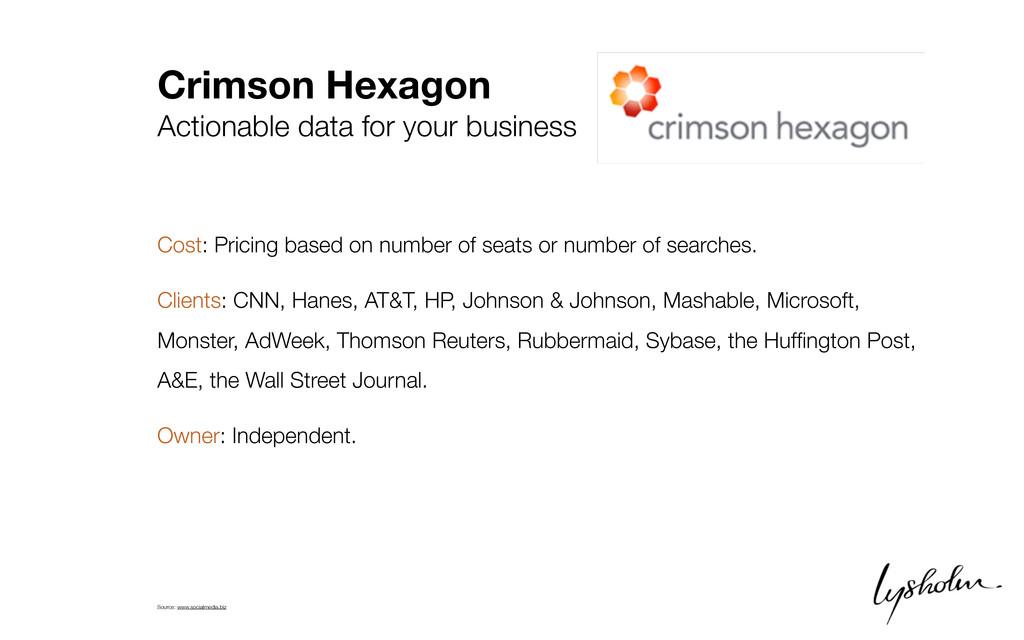 Crimson Hexagon Actionable data for your busine...