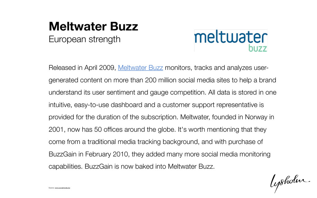 Meltwater Buzz European strength Released in Ap...