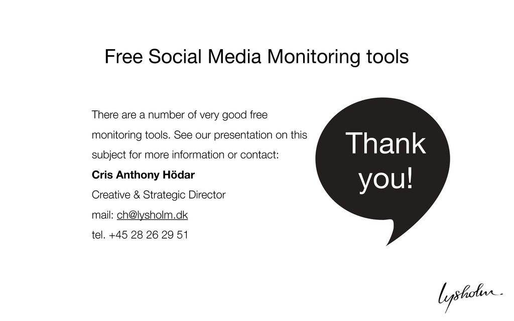 There are a number of very good free monitoring...