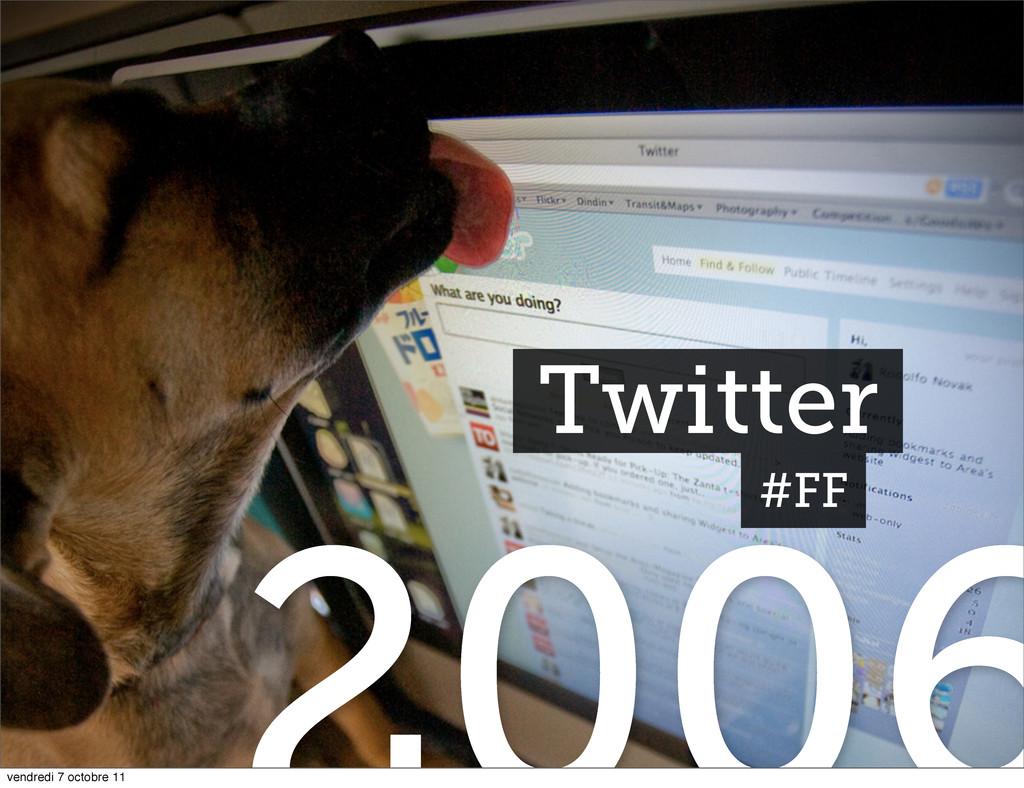 Twitter #FF vendredi 7 octobre 11