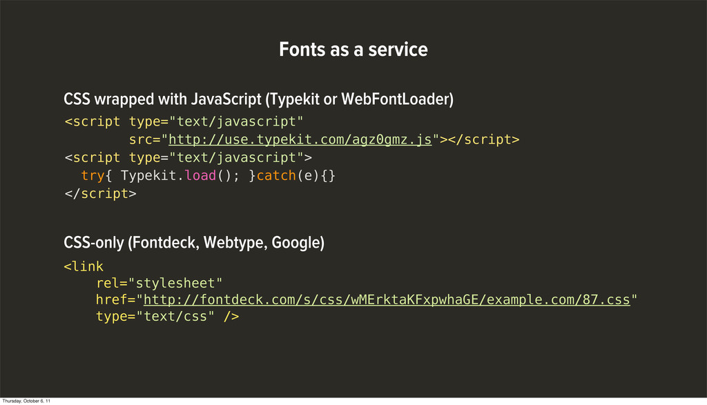 """Fonts as a service <script type=""""text/javascrip..."""