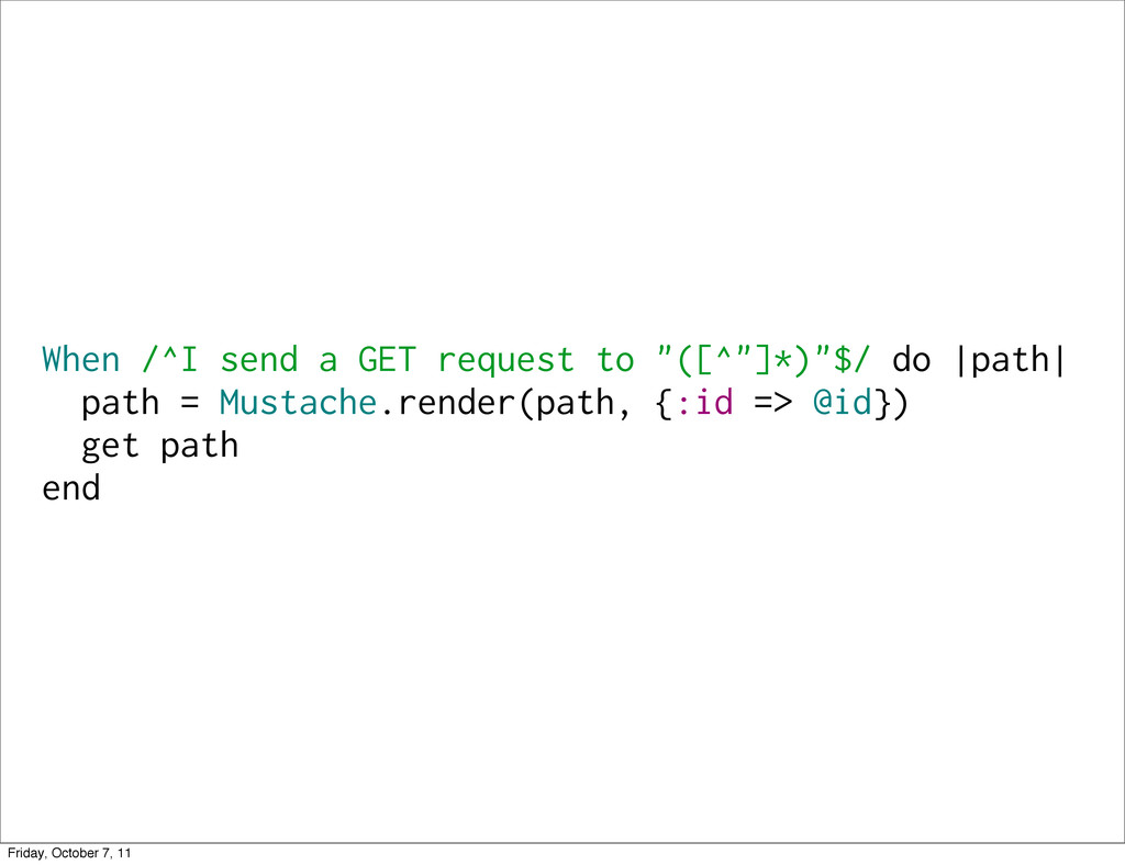 """When /^I send a GET request to """"([^""""]*)""""$/ do 