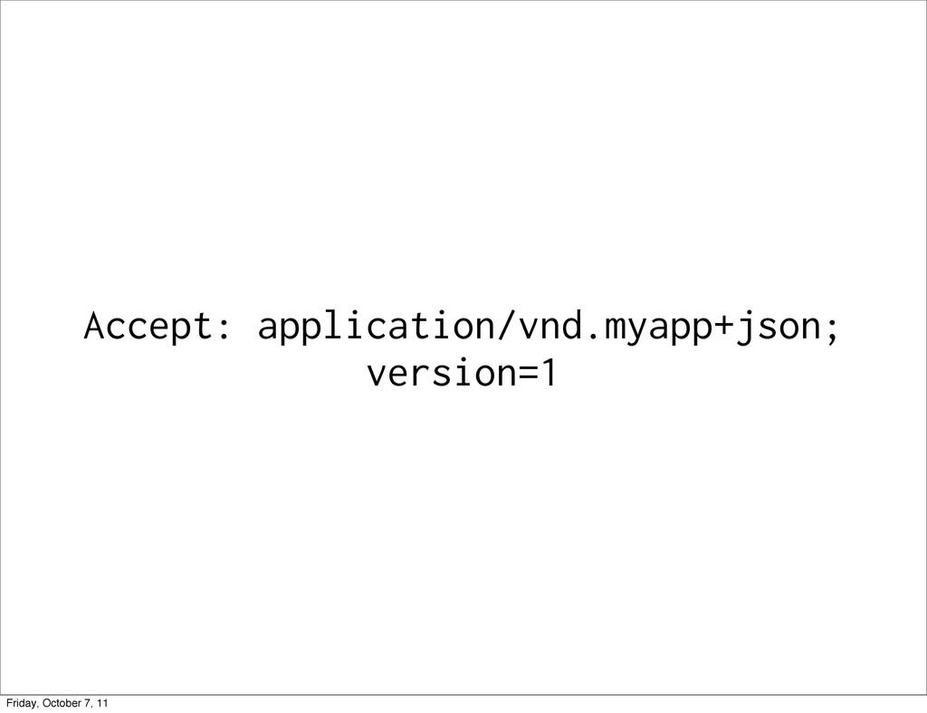 Accept: application/vnd.myapp+json; version=1 F...
