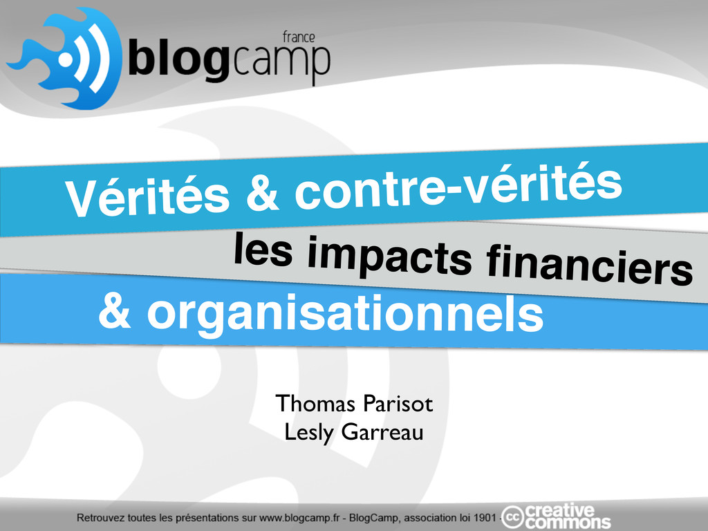 Thomas Parisot Lesly Garreau Vérités & contre-v...