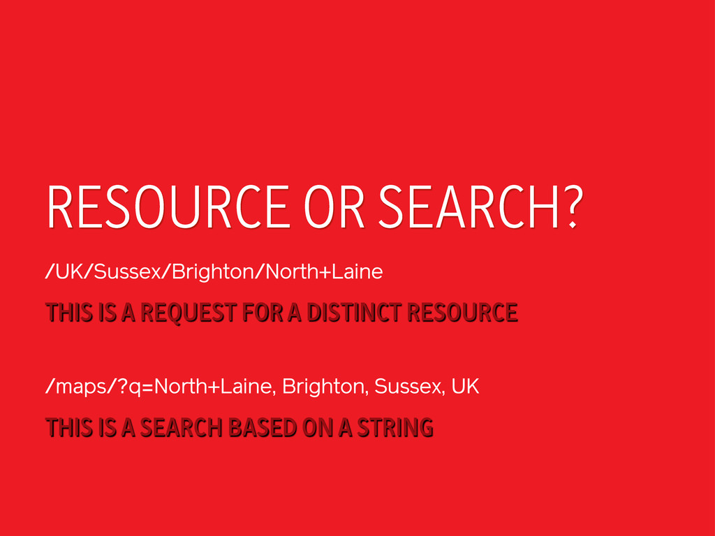 RESOURCE OR SEARCH? /UK/Sussex/Brighton/North+L...