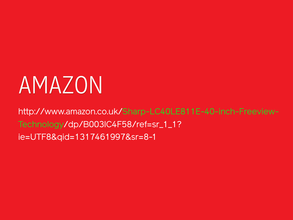 AMAZON http://www.amazon.co.uk/Sharp-LC40LE811E...